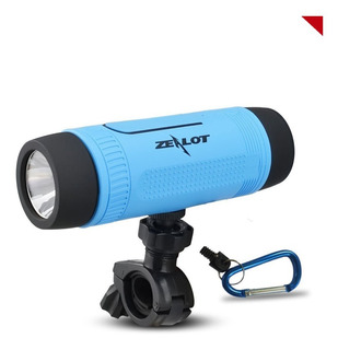 Parlante Bluetooth Zealot S1 Bici Linterna Sd Original