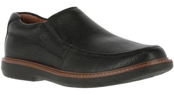 Zapatos Hombre Hush Puppies Oregon Black[111 Comfort Flex