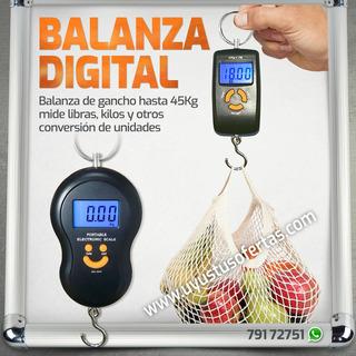 Balanza Portátil Digital Kilos Libras