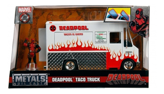 Deadpool Taco Truck 1:24 - Metal Die Cast