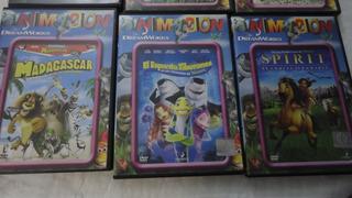 Dreamworks -- Colección Animacion 11 Dvd Y Fasciculos