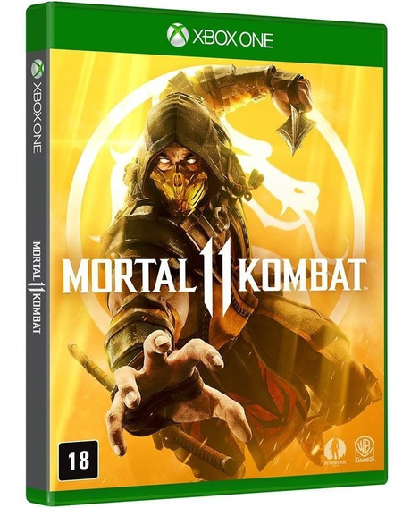Mortal Kombat 11 Br - Xbox One - Mídia Física Novo Lacrado