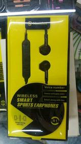 Fone De Ouvido Bluetooth Wireless Smart Sports Earphones