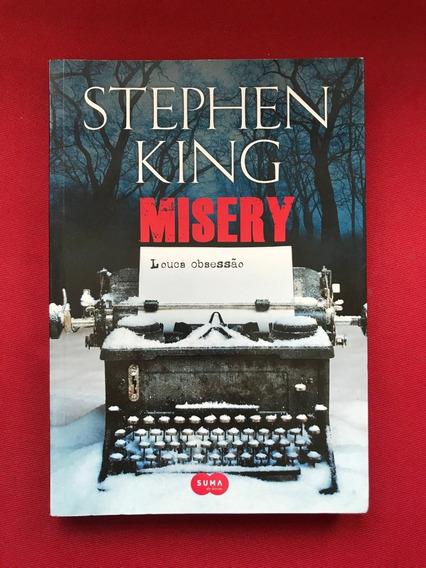 Livro - Misery: Louca Obsessão - Stephen King - Seminovo