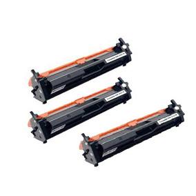 Kit Com 3 Cartucho Cf217a 17a Para Impressora M102 M130 102w