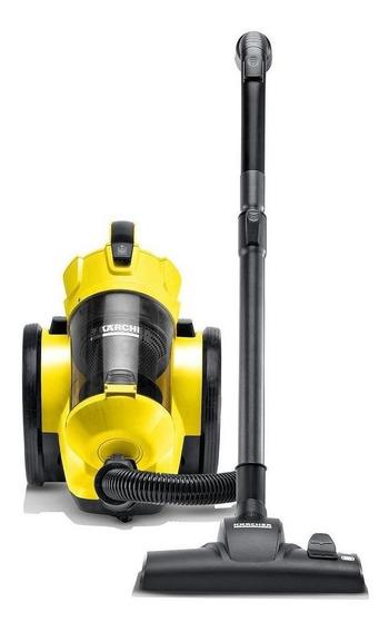 Aspiradora Kärcher VC 3 0.9L amarilla y negra 220V