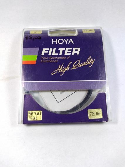 Filtro Hoya Softener A 72mm Tokina Suavizador Foto