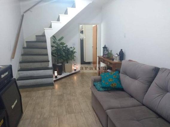 Sobrado Com 2 Dormitórios À Venda Por R$ 650.000 - Jardim Hollywood - São Bernardo Do Campo/sp - So0393