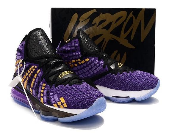 Tenis Nike Lebron 17 Varias Cores 34 Ao 44 Frete Gratis