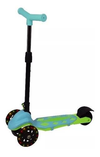 Monopatin Infantil 3 Ruedas Luces Explorer Fan Microcentro