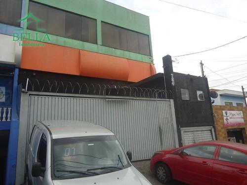Prédio Comercial Para Venda E Locação, Jardim Santo Elias, São Paulo. - Pr0021
