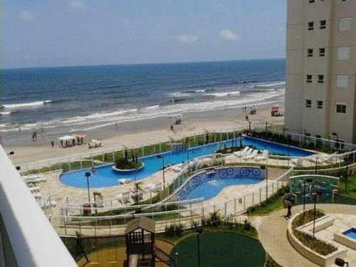 Apartamento No Resort Itanhaém Frente Ao Mar Ref. 6795 M H