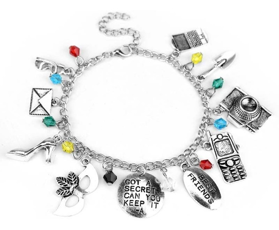 Pulseira Berloques Pretty Little Liars Seriado