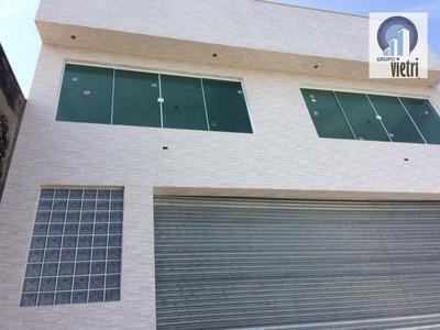 Galpão Para Alugar, 380 M² Por R$ 7.000/mês - Pirituba - São Paulo/sp - Ga0251