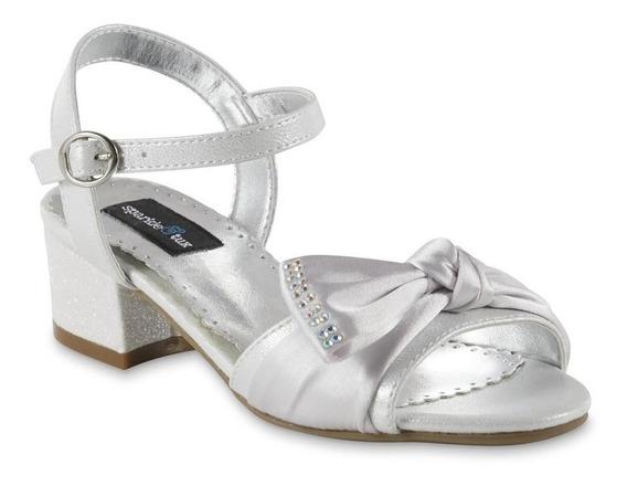 Zapato Plata Huarache Sparkle And Tux Color Plateado