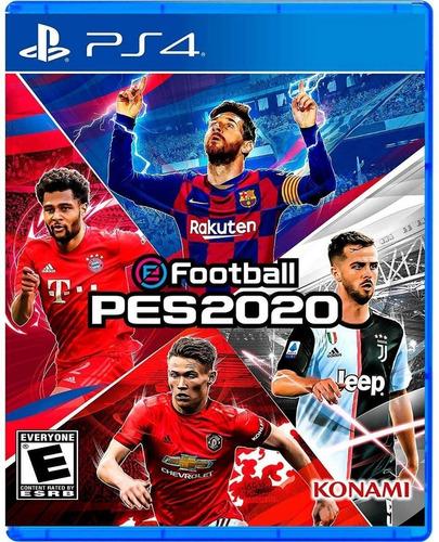 Imagen 1 de 3 de Pes 2020 Ps4  Efootball Pes 20 Latino   - Ya