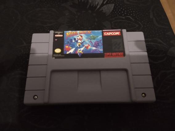 Mega Man X Original Super Nintendo Snes Conservado Megaman
