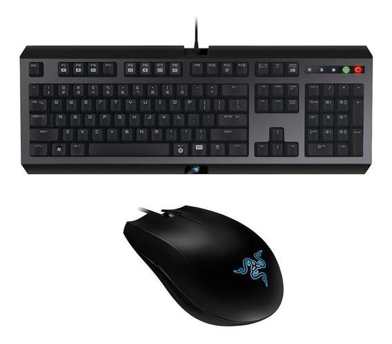 Teclado Razer Cyclosa Combo Com Mouse Abyssus