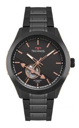Relógio Technos Masculino Automático Preto 82s0ac/4p