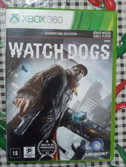 Watch Dogs Xbox 360 Original Em Midia Fisica