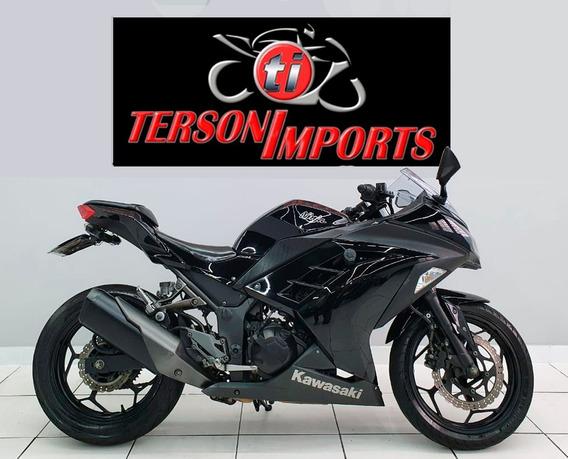 Kawasaki Ninja 300 2013 Preta
