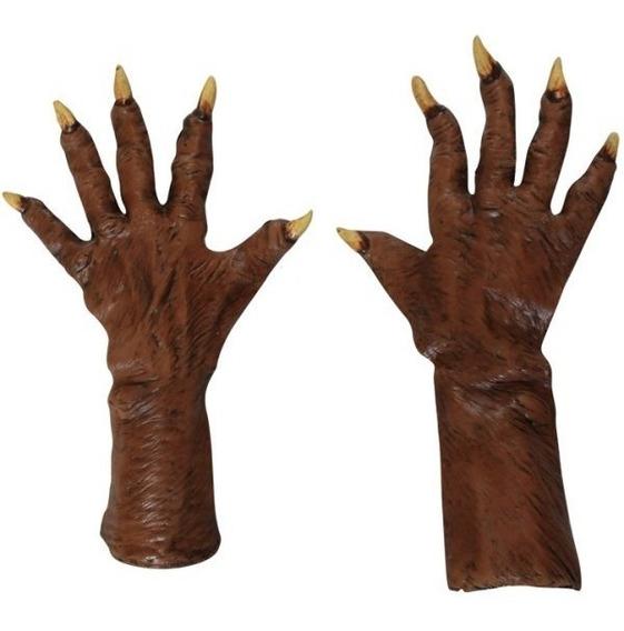 Garras De Látex Werewolf Gloves Guantes Hombre Lobo Cdmx Df
