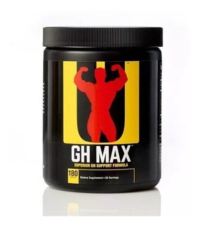 Gh Max Universal Nutrition - 180 Tabletes Val 09/2021