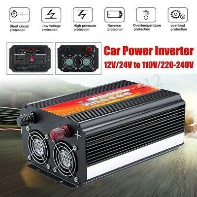 Inversor 2000w 4000w 12v 110v 60 Hz Potente Envio Rápido