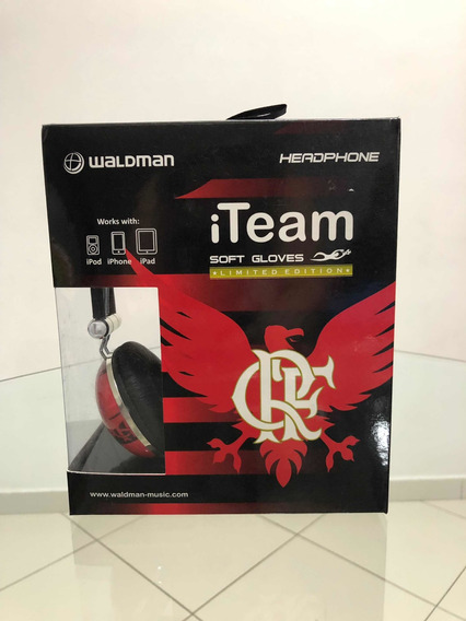 Fone De Ouvido Headphone Waldman Flamengo