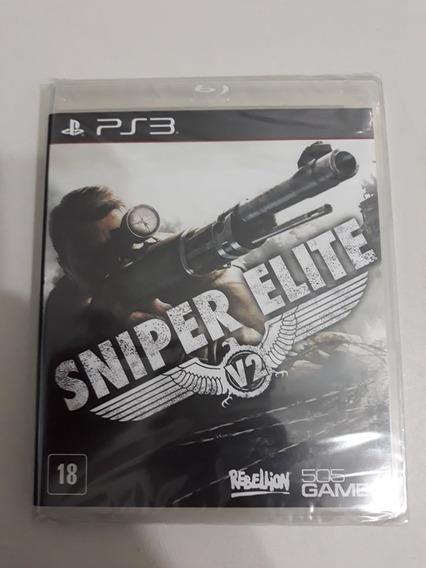Sniper Elite V2 Ps3 Mídia Física Lacrado Pronta Entrega