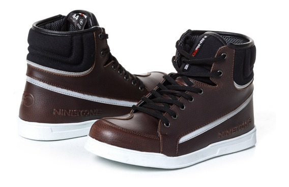 Zapatillas Sneakers Nine To One Rome Urban By Ls2 Marron Um