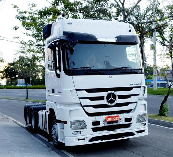 Caminhão Mercedes Actros 2546 Ls Megaspace Plus Teto Alto