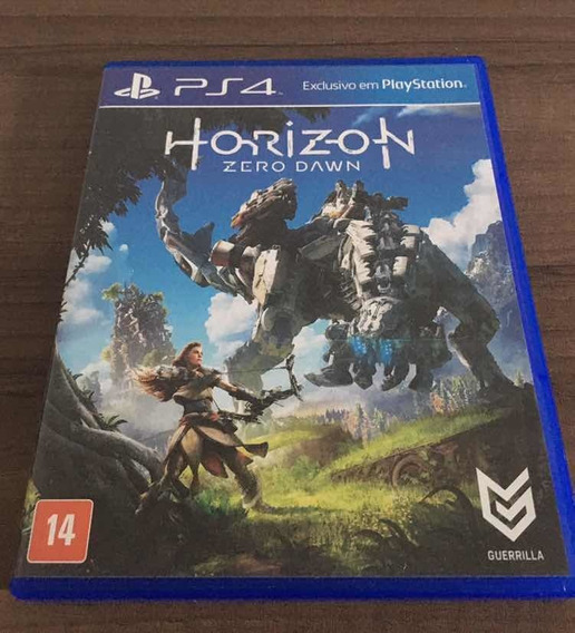 Horizon Zero Dawn - Mídia Física (ps4)