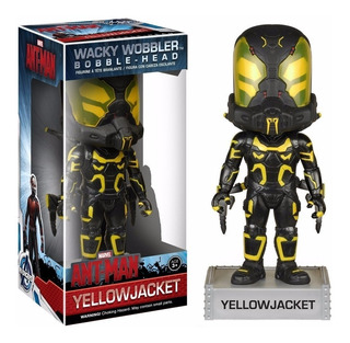 Funko Wacky Wobbler Yellow Jacket Bobble Head Ant-man
