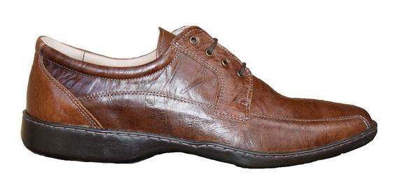 Zapatos De Cuero Para Hombre Base Febo Con Cordones 46 Al 50
