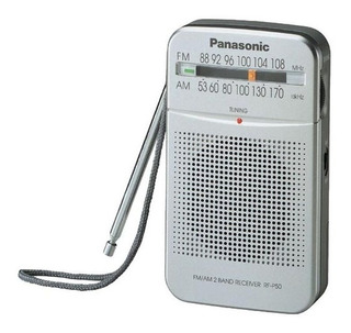 Radio Portable Am/fm Rf-p50dpr-s Panasonic