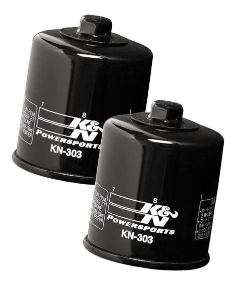 Filtros Óleo K&n Kn-303 Z750 Z800 Z900 Z1000 Versys Zx6 Zx10