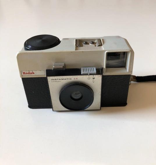 Câmera Fotográfica Antiga Kodak Instamatic 25 - No Estado