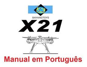 Manual Em Português Do Drone Bayangtoys X21