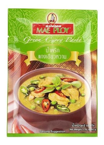 Pasta De Curry Verde Tailandes 50g - kg a $6500