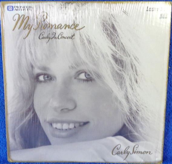Laserdisc Carly Simon My Romance Original Importado