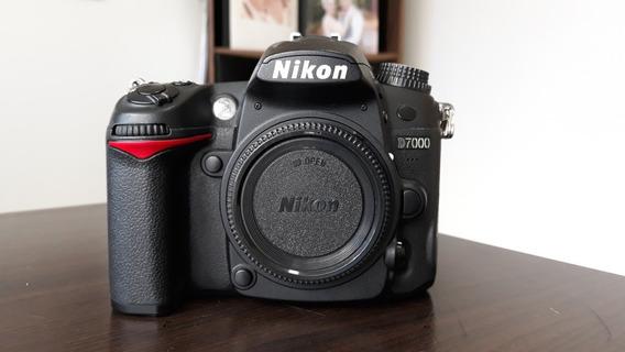 Nikon D7000 Semi Nova 31k Clicks + Brinde !