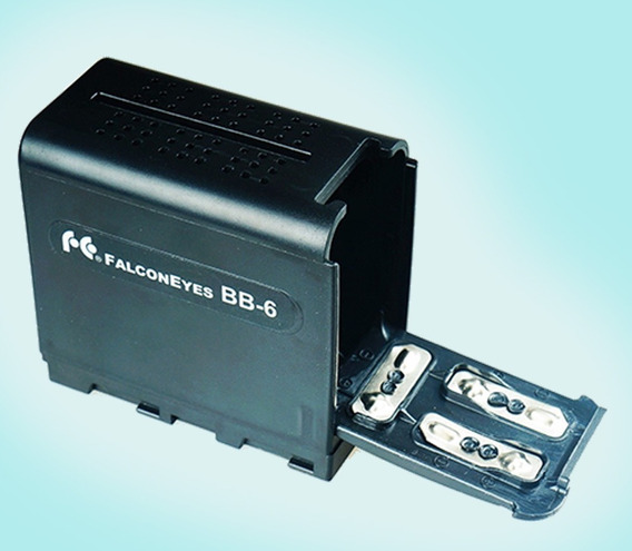 Adaptador De Pilha Para Bateria Sony Np-f970 Iluminador Etc