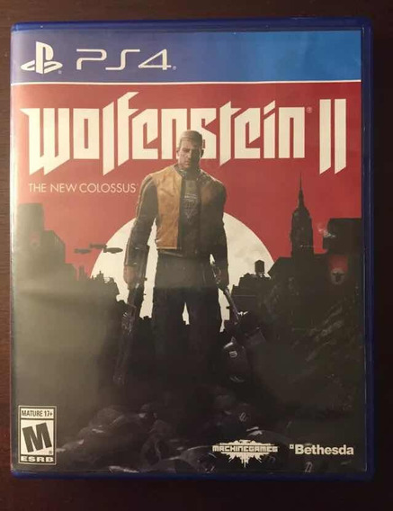 Combo Pack Wolfenstein 2 + Last Of Us Remastered Ps4