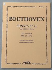 Beethoven: Sonata N. 14 Al Claro De Luna Em Dó# Menor - Op
