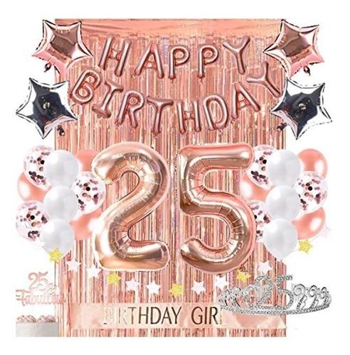 Decoracion De Cumpleaños Para 25 Fabulosos 25