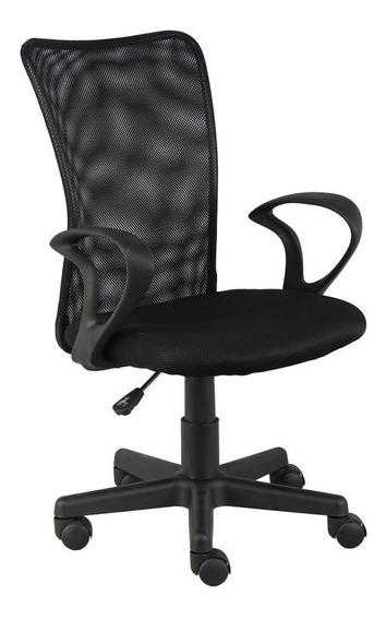 Cadeira Escritorio Lost Secretaria Preta Giratoria C/ Nota