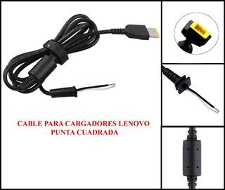 Cable Reparacion Cargador Lenovo Punta Cuadrada