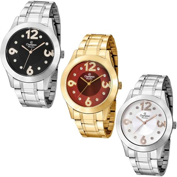 Relógio Champion Feminino Original Prova D