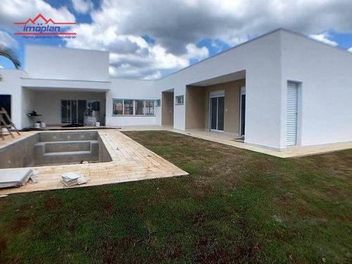 Casa Com 3 Dormitórios À Venda, 248 M² Por R$ 1.422.201,10 - Retiro Recanto Tranquilo - Atibaia/sp - Ca4602